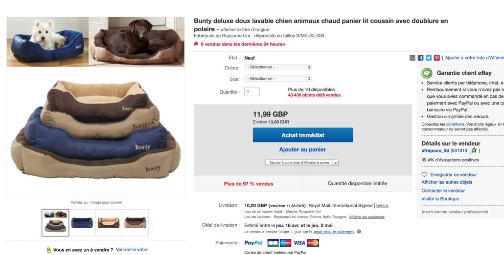 Produits gagnants dropshipping ebay