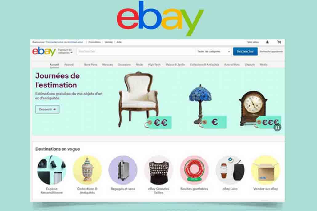 Vente sur eBay
