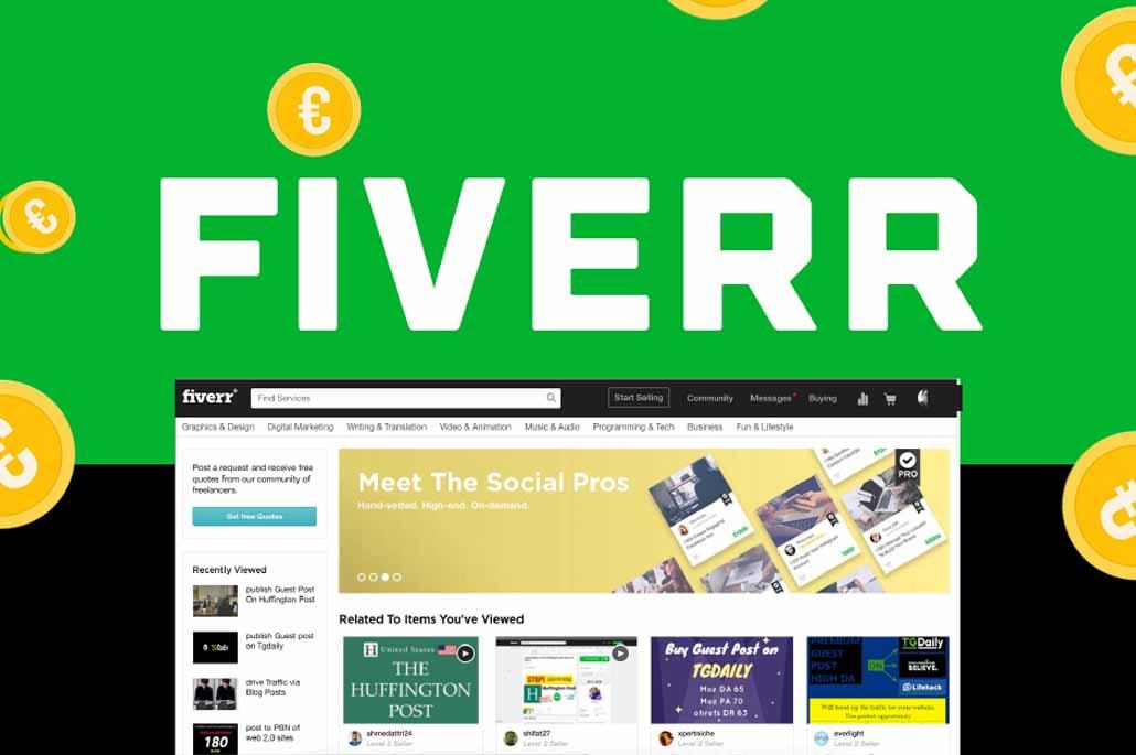 Fiverr avis et test complet : Une grande plateforme pour dénicher des services variés