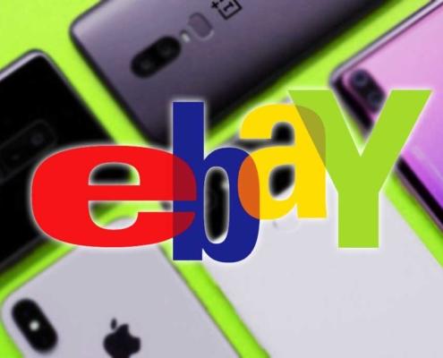 Smartphone sur eBay