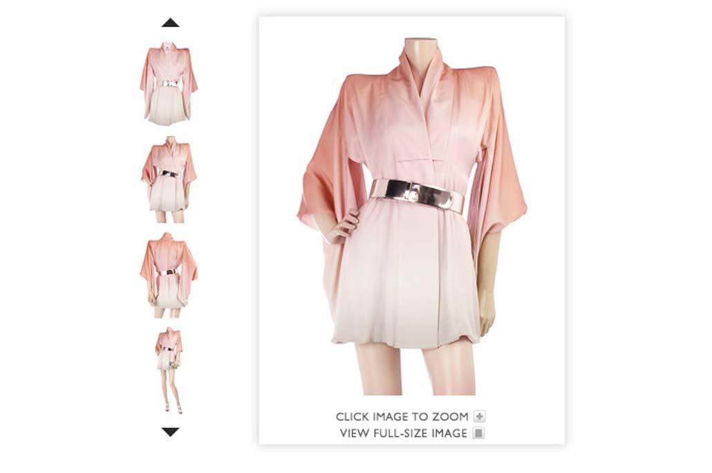 Vente de vêtement en ligne
