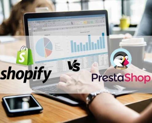 Shopify ou Prestashop