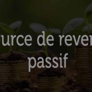 Source de revenu passif
