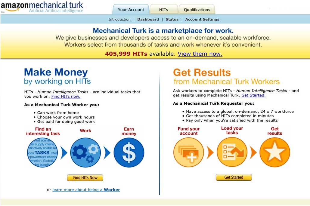 Site pour gagner de l'argent