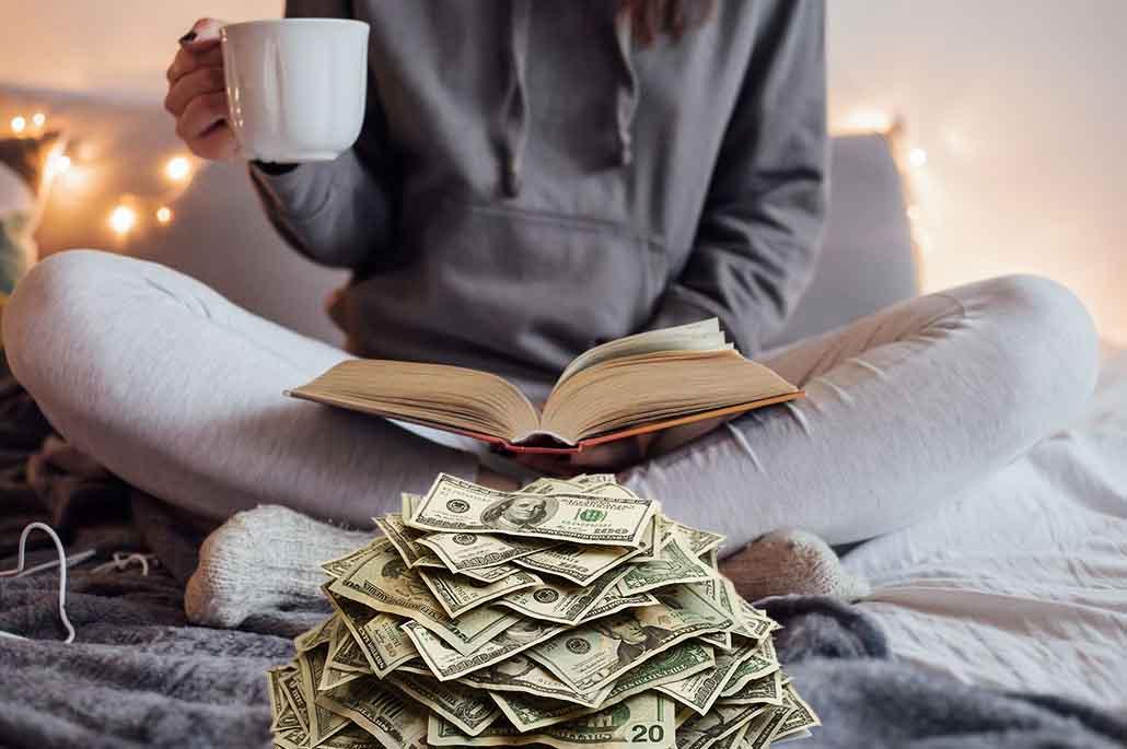 gagner de l'argent en lisant des livres