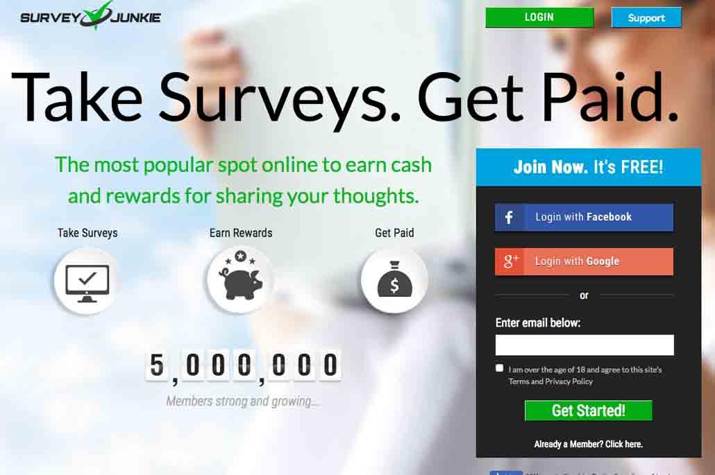 sondage rémunéré