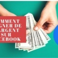 gagner de l'argent sur sa page Facebook