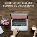 modérateur sur des forums de discussions 1