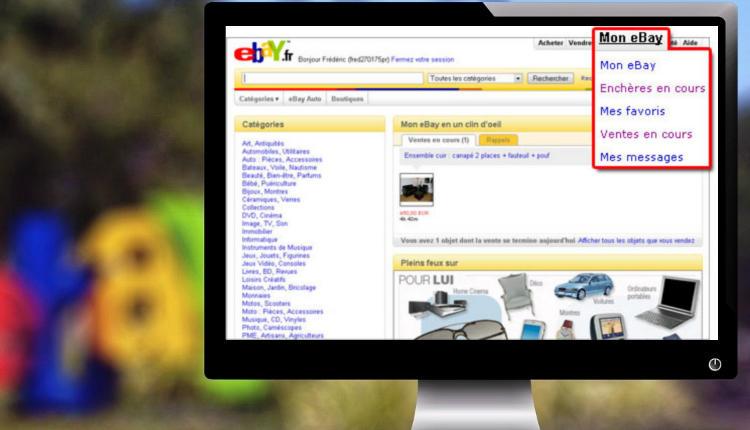 vente aux enchères sur eBay 3