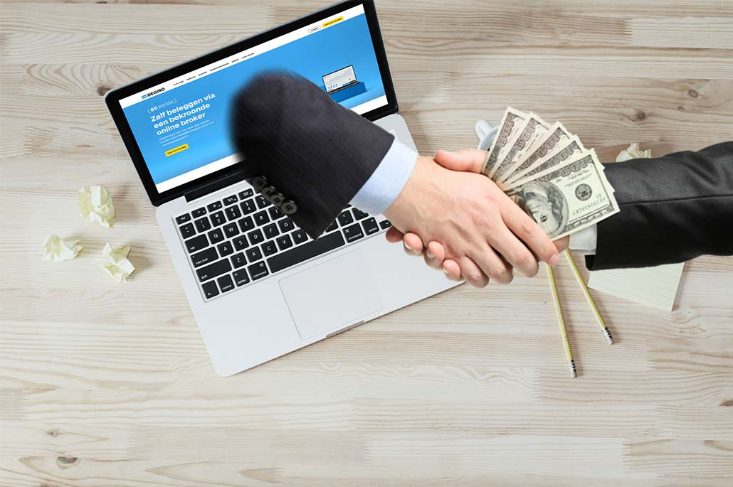 La référence de la plateforme DEGIRO trading en ligne